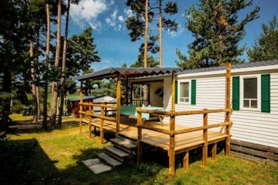 Mobil-home Ophéa classique de 3 chambres 30 m² pour 6 personnes en Lozère