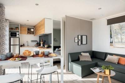 Mobil-home en Lozère prestige Family 32 m² pour 4 personnes